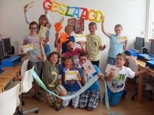 leuke bijbaan: typeles geven aan kinderen met GigaKids